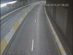Caméra trafic Belgique - R20 (Petite ceinture de Bruxelles), tunnel Porte de Halle, direction Bruxelles-midi