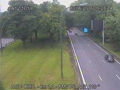 Caméra trafic Belgique - R21, tunnel Reyers-Montgomery entrée Ouest, Schaerbeek vers E40 (Louvain/Liège)