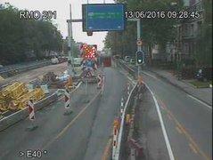 Caméra trafic Belgique - R0 (Ring de Bruxelles), Anderlecht (sortie Bruxelles-Centre) direction Grand-Bigard (BK 57)