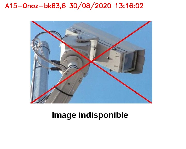 Webcam autoroute Belgique - Onoz - E42 - BK 63.8