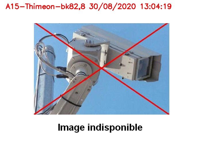 Caméra trafic Belgique - Thiméon - E42, jonction avec A54 (E420) direction La Louvière/Charleroi - BK 82.82